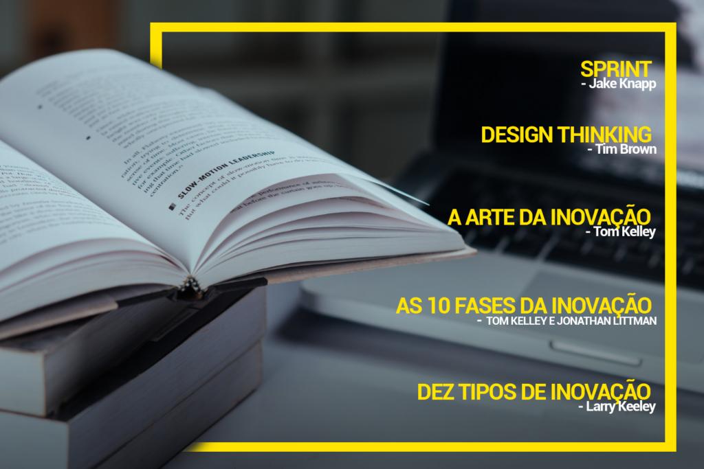 Livros sobre Design Thinking e Inovação