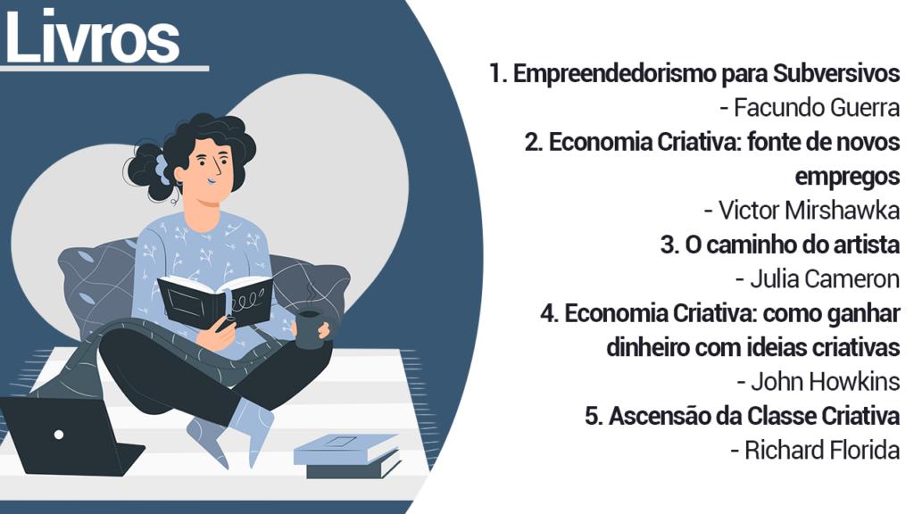Dicas de livros sobre empreendedorismo criativo